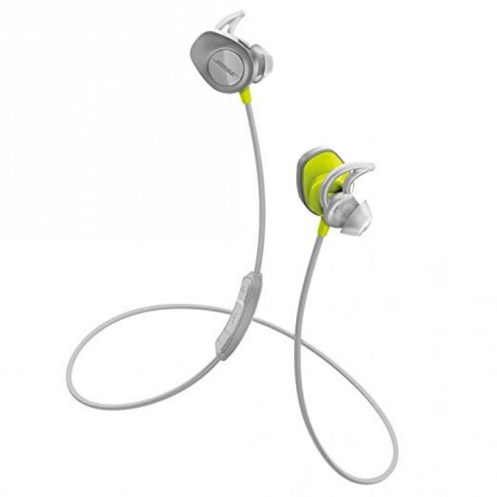 Bose SoundSport Wireless HDPH Grey Yellow