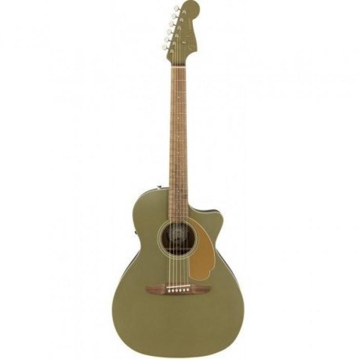 Fender Newporter Player Ice Olive Satin