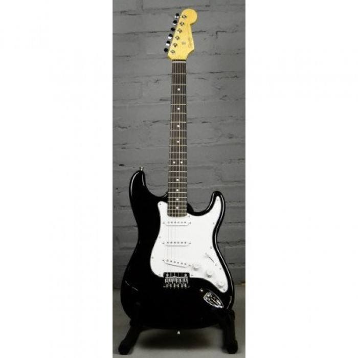 Электрогитара Squier By Fender MM STRAT HT BLACK