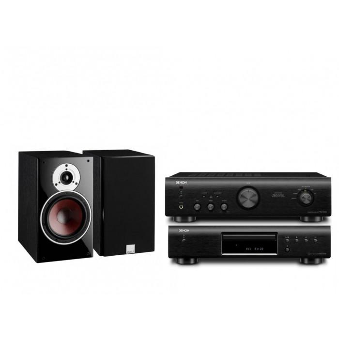 Стереокомплект Denon DCD-520AE + Denon PMA-520AE + DALI  Zensor 3
