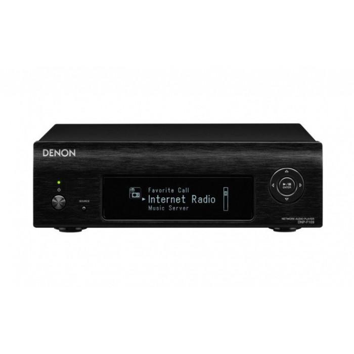Сетевой аудио плеер  Denon DNP-F109 Black