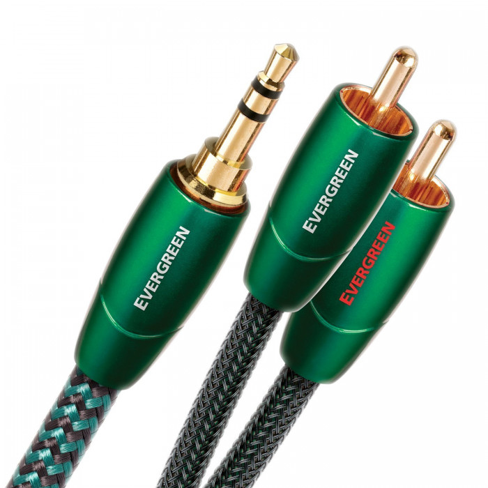 AudioQuest Evergreen 0.6m 3,5 > RCA