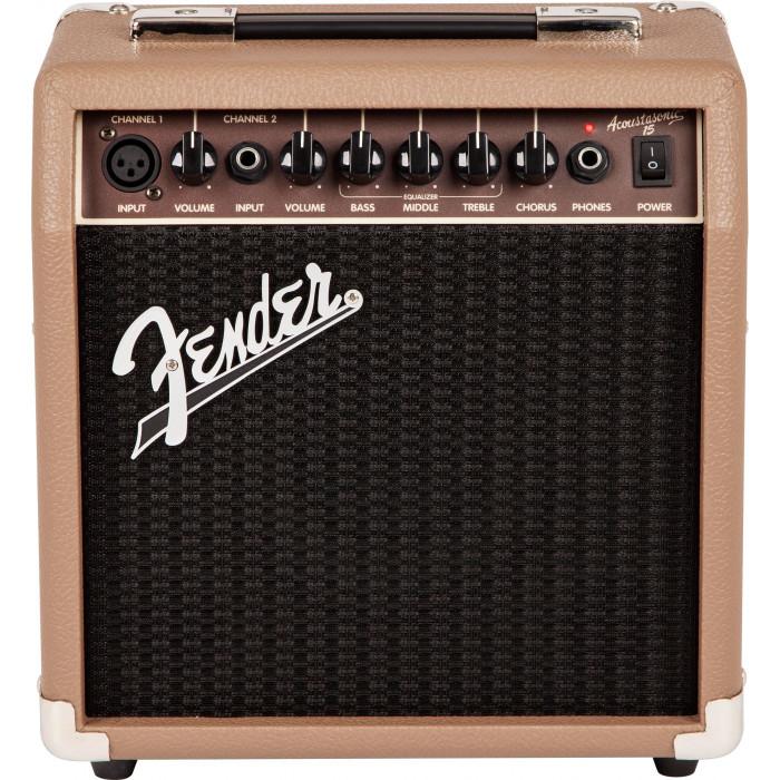Комбоусилитель для акустических инструментов Fender Acoustasonic 15