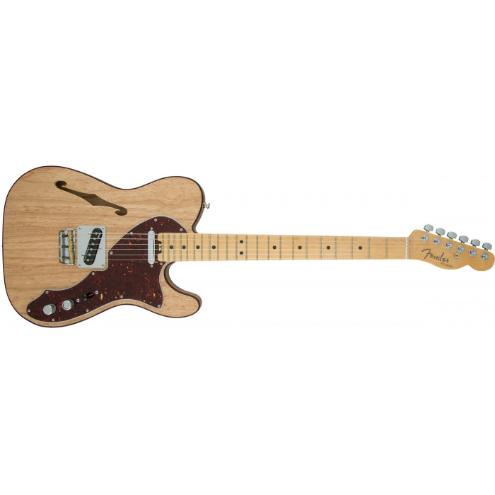 Электрогитара Fender American Elite Telecaster Thinline Mn Natural