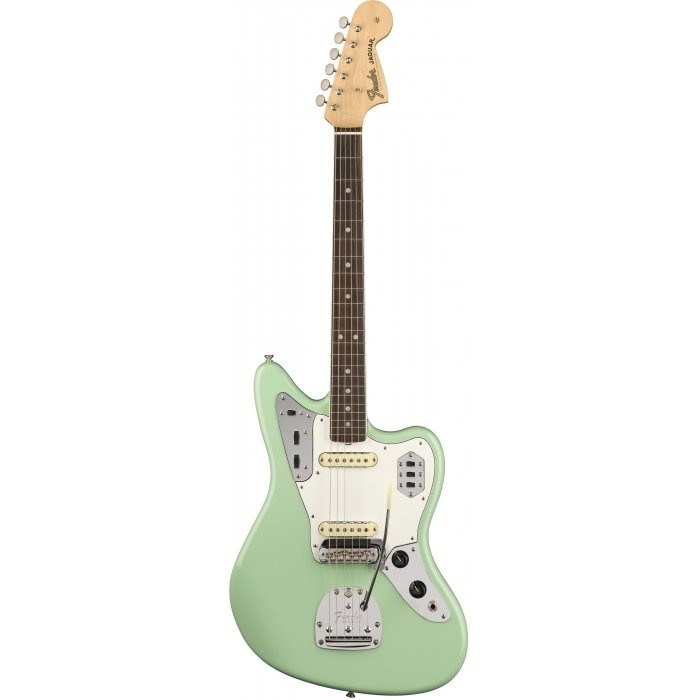 Электрогитара Fender AMERICAN ORIGINAL 60S JAGUAR RW SURF GREEN