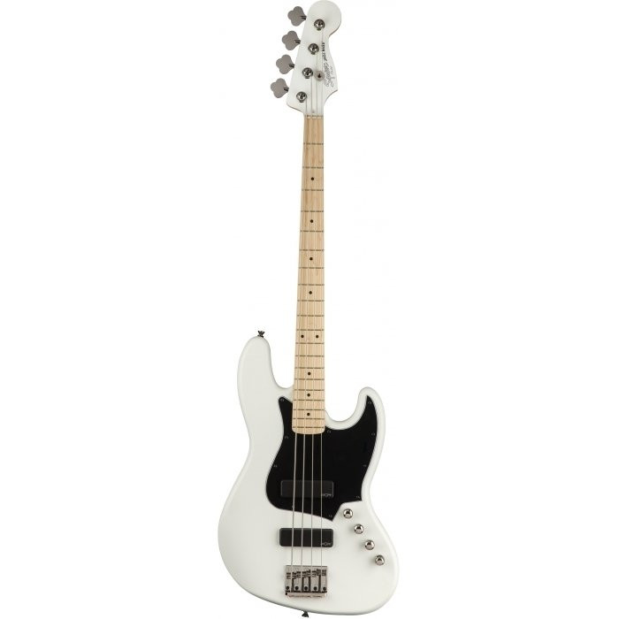 Бас-гитара Squier By Fender CONTEMPORARY ACTIVE J-BASS HH MN FLAT WHITE