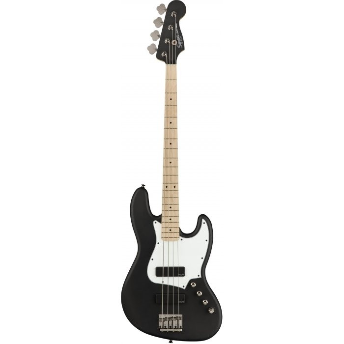 Бас-гитара Squier By Fender CONTEMPORARY ACTIVE J-BASS HH MN FLAT BLACK