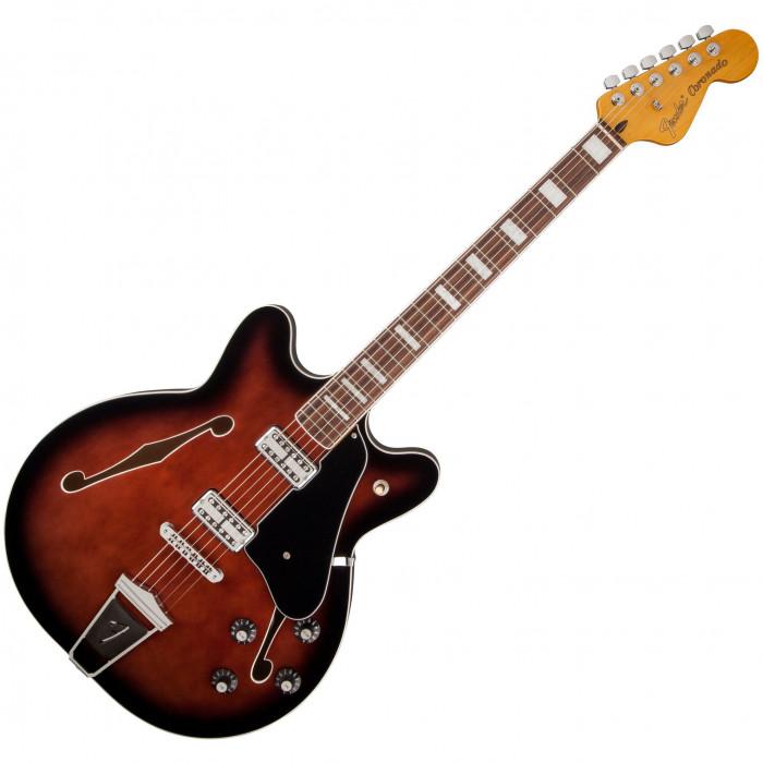 Полуакустическая гитара Fender Coronado Rw Bcb