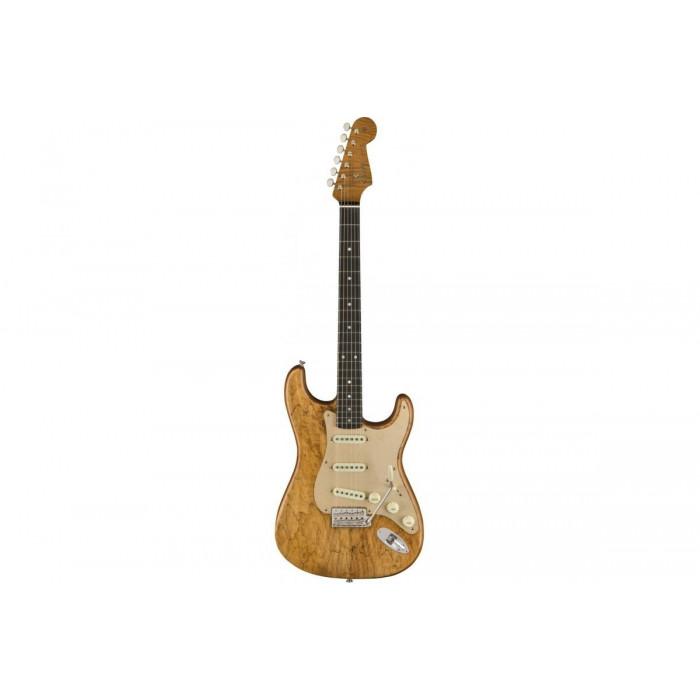 Электрогитара Fender CUSTOM SHOP ARTISAN SPALTED MAPLE STRATOCASTER AGED NAT