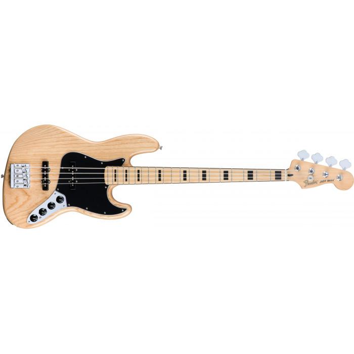 Бас-гитара Fender Deluxe Active Jazz Bass Mn Nat