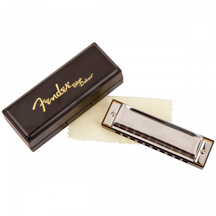 Губная гармошка Fender Harmonica Blues Deluxe A