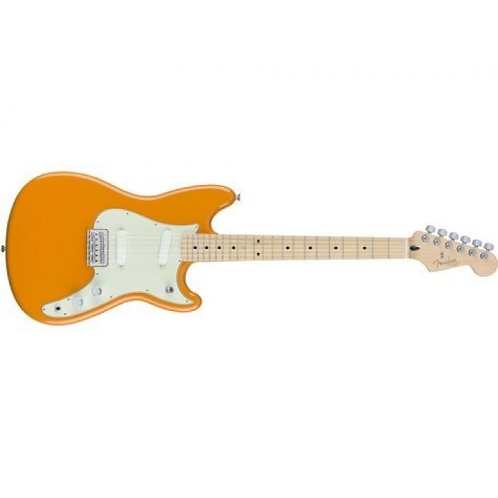 Электрогитара Fender OFFSET DUO-SONIC MN CAPRI ORANGE