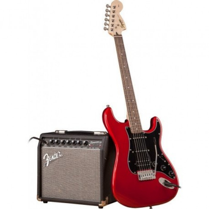 Гитарный Набор Squier By Fender Strat Pack Hss Candy Apple Red