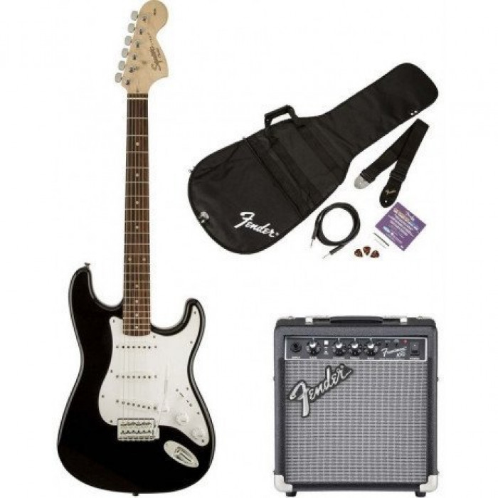 Гитарный Набор Squier By Fender Squier Strat Pack Sss Black