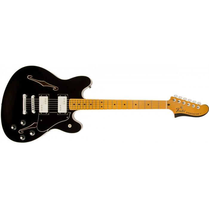Полуакустическая гитара Fender Starcaster Mn Blk