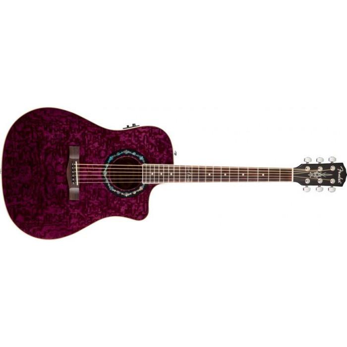Электроакустическая гитара Fender T-Bucket 300Ce Ash Trans Violet