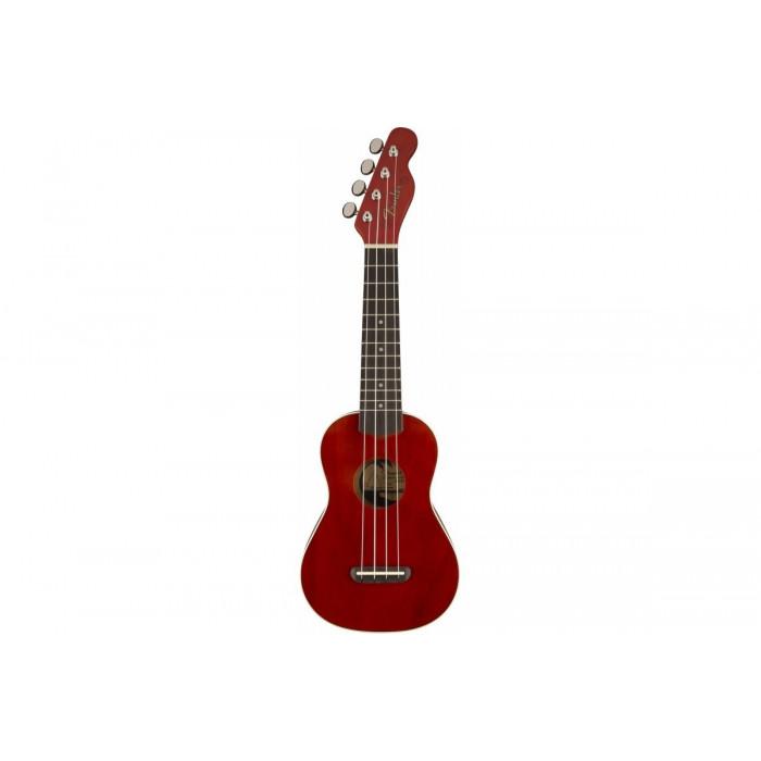 Укулеле Fender UKULELE VENICE SOPRANO CHERRY WN