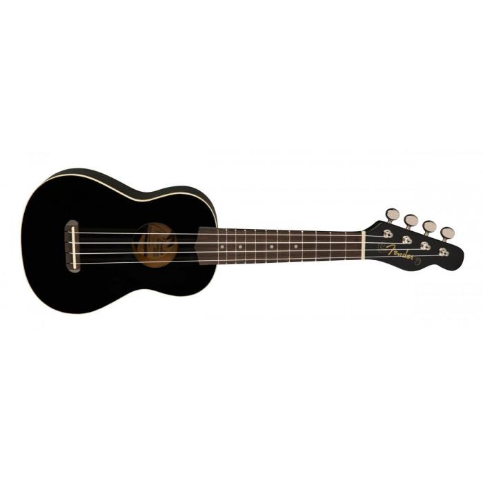 Укулеле Fender UKULELE VENICE SOPRANO BLACK