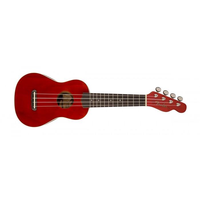 Укулеле Fender UKULELE VENICE SOPRANO CHERRY
