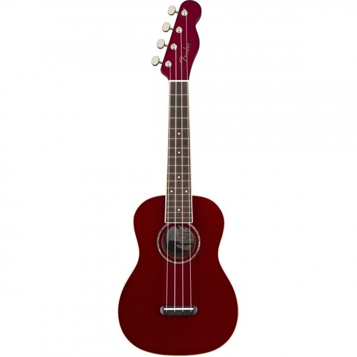 Укулеле Fender UKULELE ZUMA CONCERT CANDY APPLE RED
