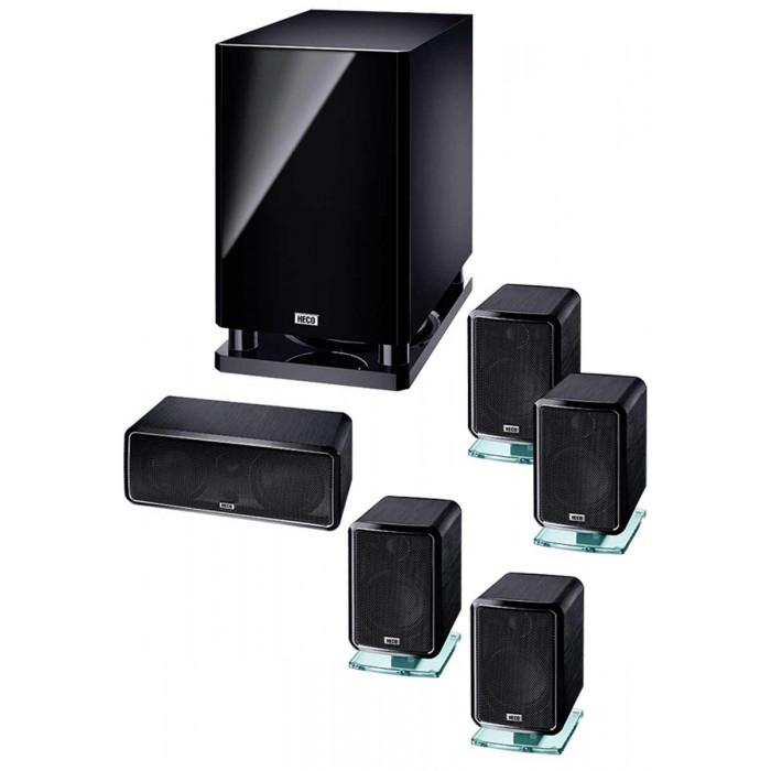 Комплект акустики 5.1 HECO Ambient 5.1A Black