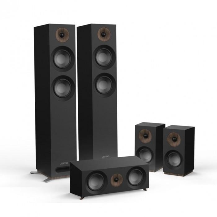 Комплект акустики 5.0 Jamo S 807 HCS Black