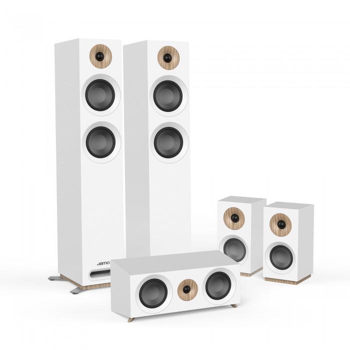 Комплект акустики 5.0 Jamo S 807 HCS White