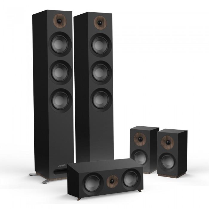 Комплект акустики 5.0 Jamo S 809 HCS Black