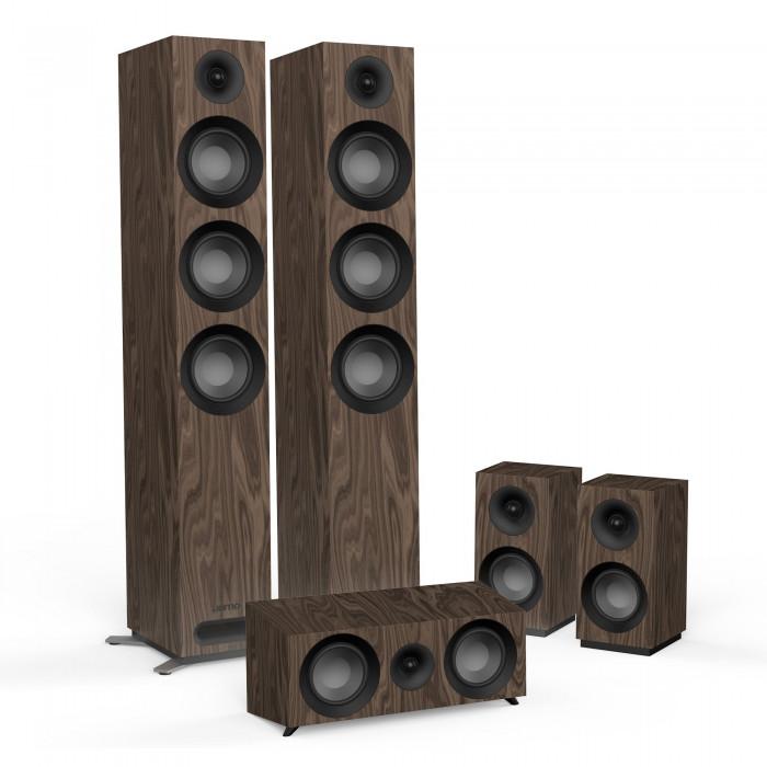Комплект акустики 5.0 Jamo S 809 HCS Walnut