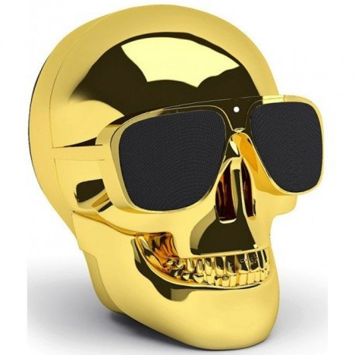 Hi-Fi Минисистема Jarre Technologies AeroSkull Nano Chrome Gold
