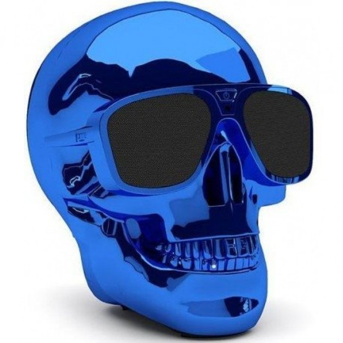 Hi-Fi Минисистема Jarre Technologies AeroSkull Nano Glossy Blue