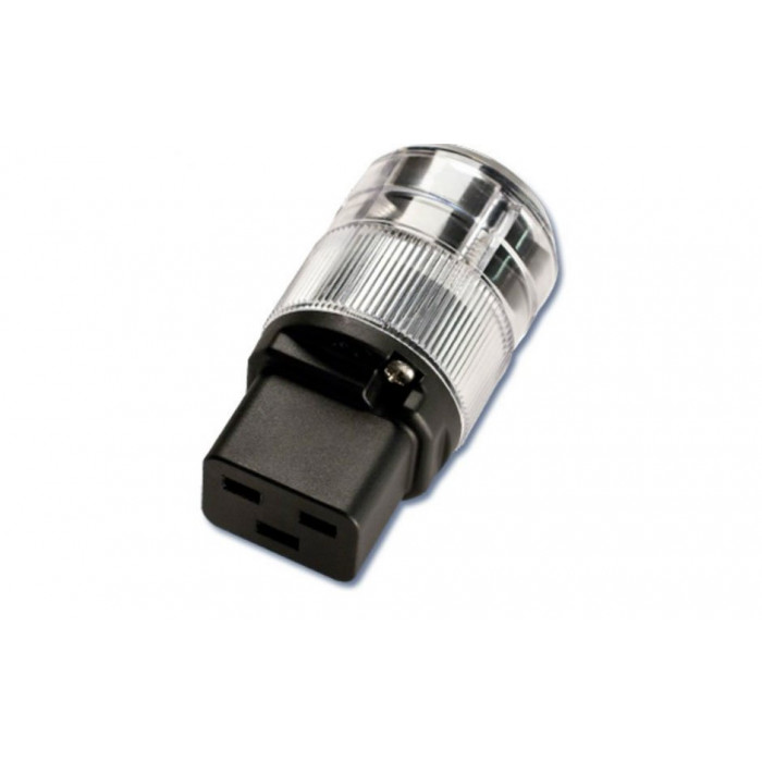 Сетевая вилка Kimber Kable WATTGATE 320 i HC Clear (мама)