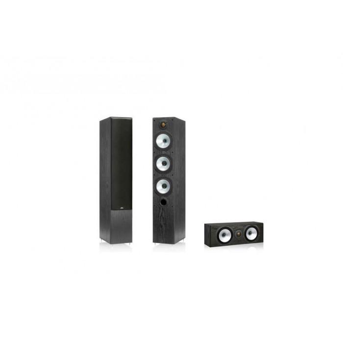 Комплект акустики 3.0 Monitor Audio MR6 Black Oak