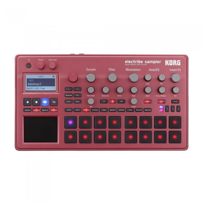 Семплер-грувбокс KORG ELECTRIBE2 Sampler Red