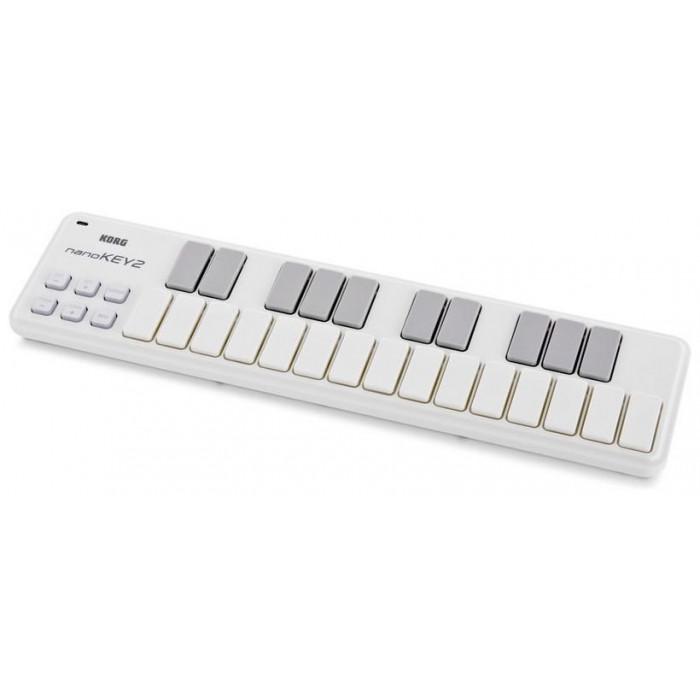 USB-MIDI контроллер KORG NANOKEY 2 White