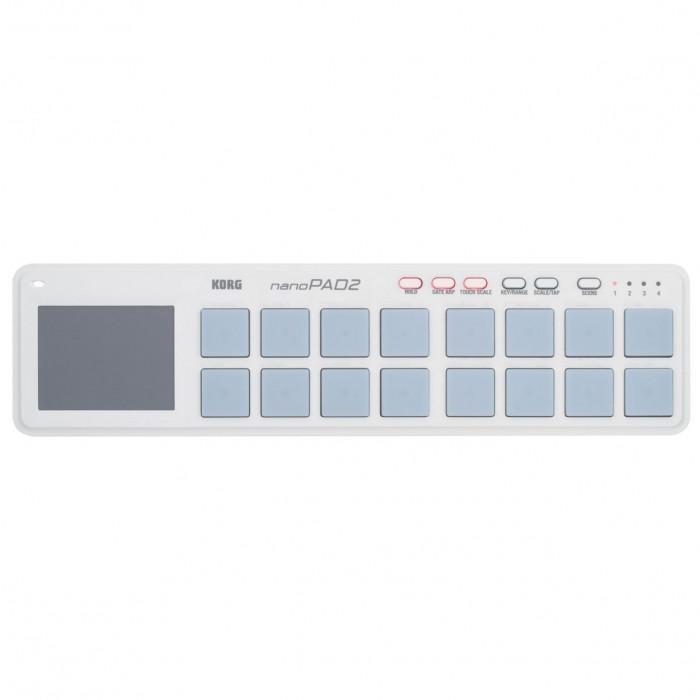 USB-MIDI контроллер KORG NANOPAD 2 White