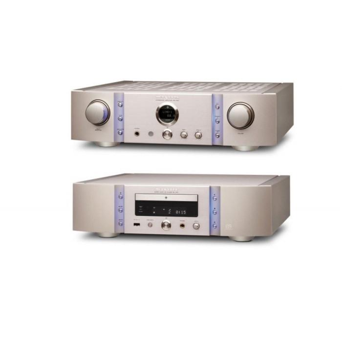 Комплект Marantz CD плеер(SA-14S1) + Cтерео усилитель (PM-14S1) Gold