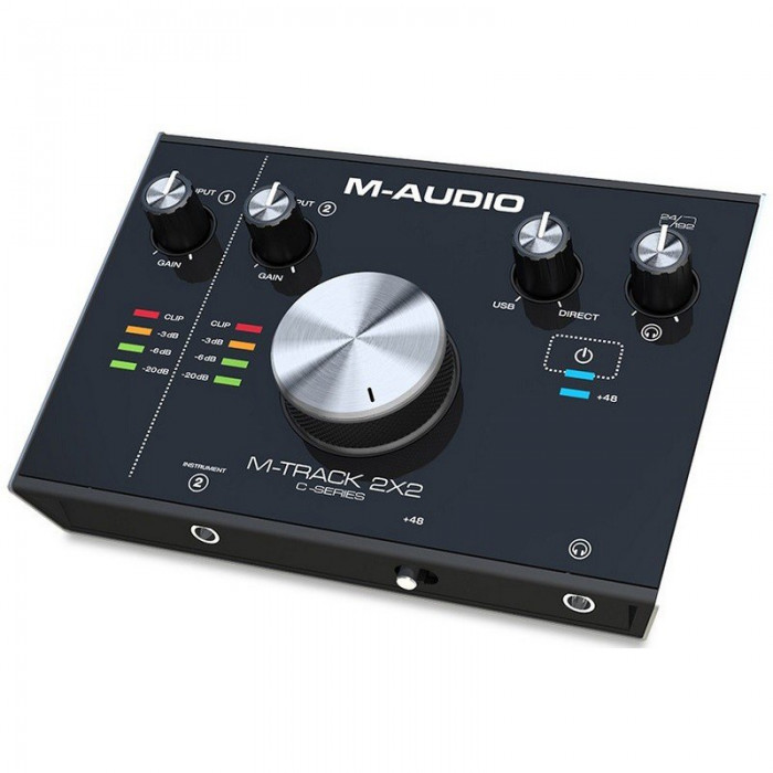 Аудиоинтерфейс M-Audio MTRACK2X2