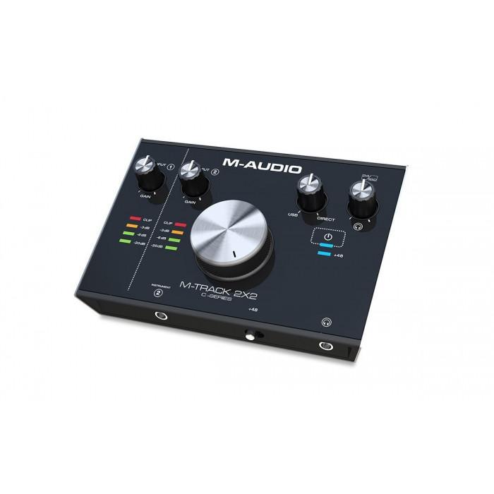 Аудиоинтерфейс M-Audio MTRACK2X2M