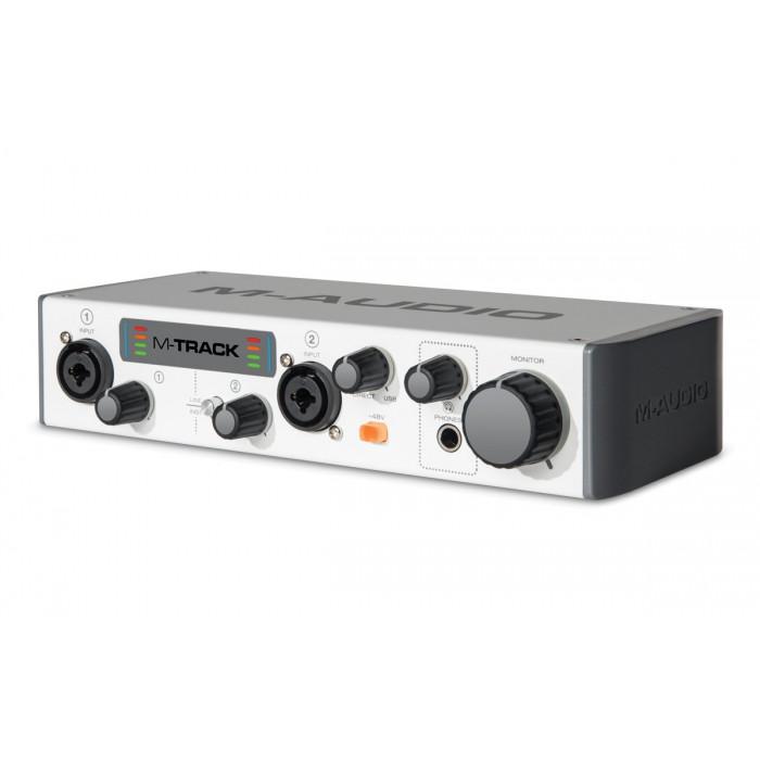 Аудиоинтерфейс M-Audio MTRACKII