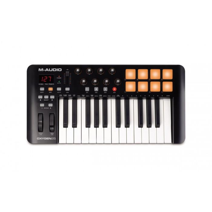 MIDI клавиатура M-Audio OXYGEN25IV