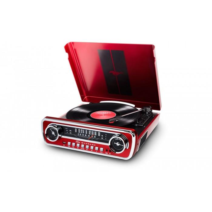 Музыкальный центр ION Mustang LP Red