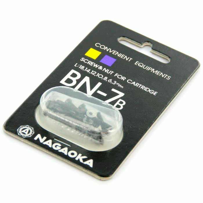 Набор крепежа для монтажа картриджа на шелл Nagaoka BN 7 B