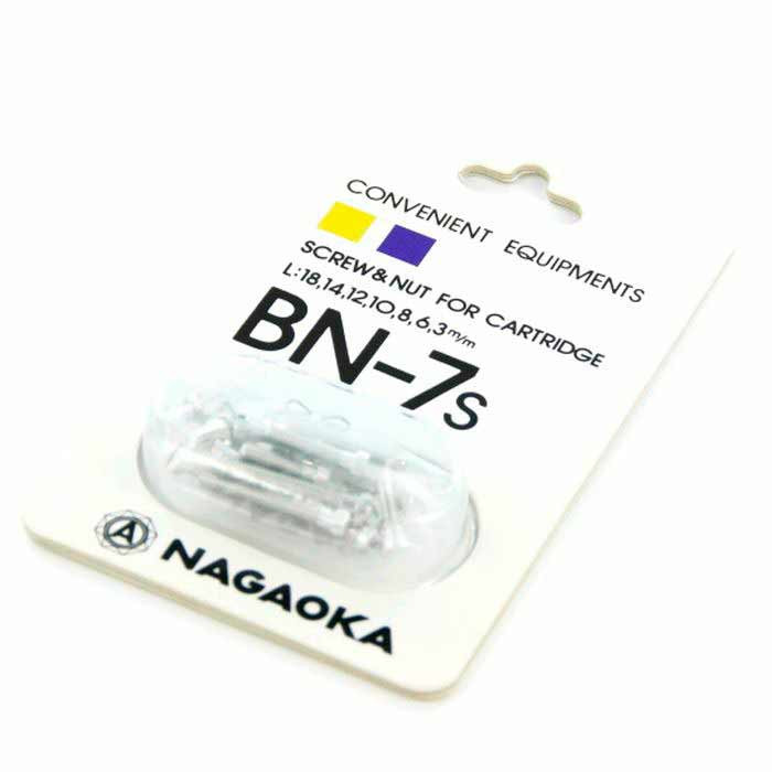 Набор крепежа для монтажа картриджа на шелл Nagaoka BN 7 S