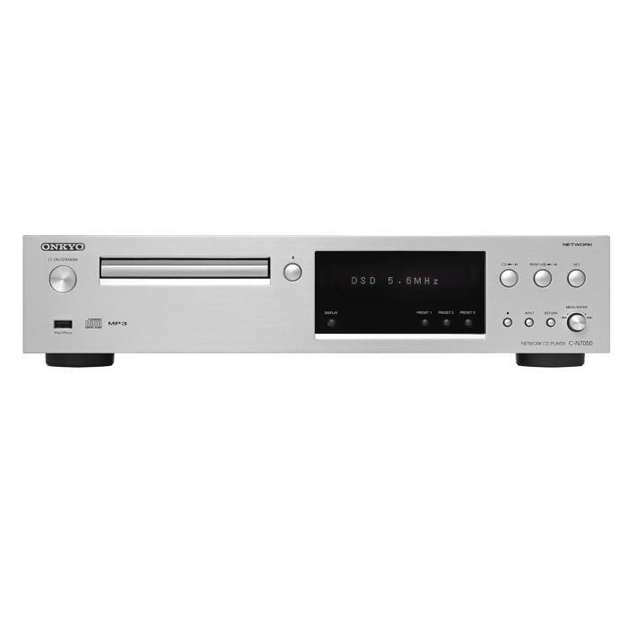 Сетевой аудио плеер Onkyo C-N7050 Silver