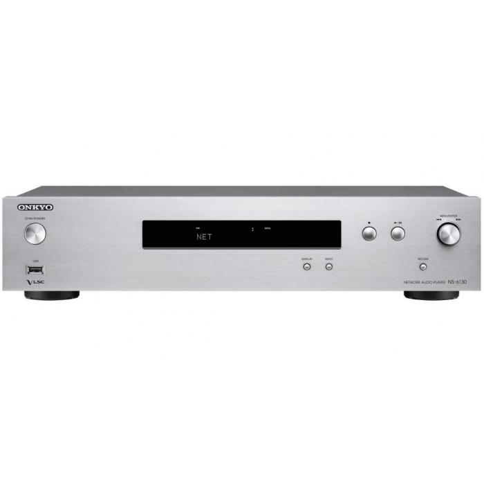 Сетевой аудио плеер Onkyo NS-6130 Silver