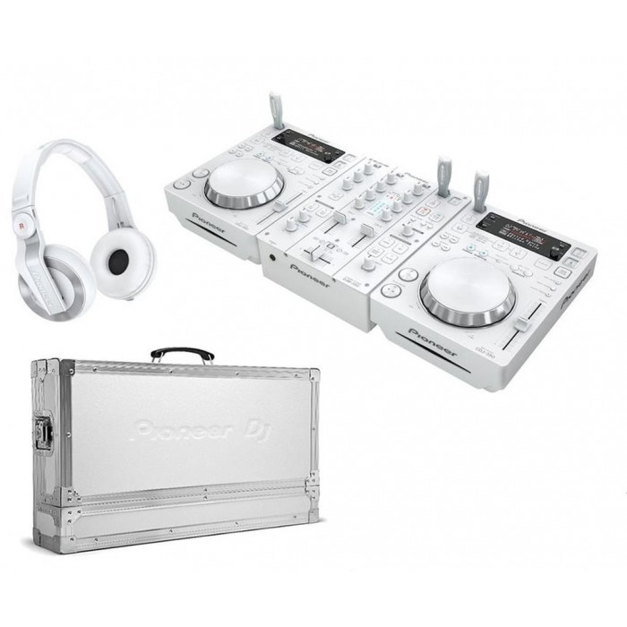 Pioneer DJ 350PACK-2 White