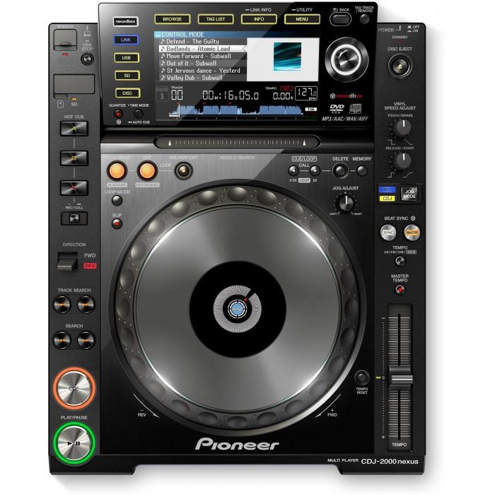 DJ CD проигрыватель Pioneer DJ CDJ-2000NXS Black
