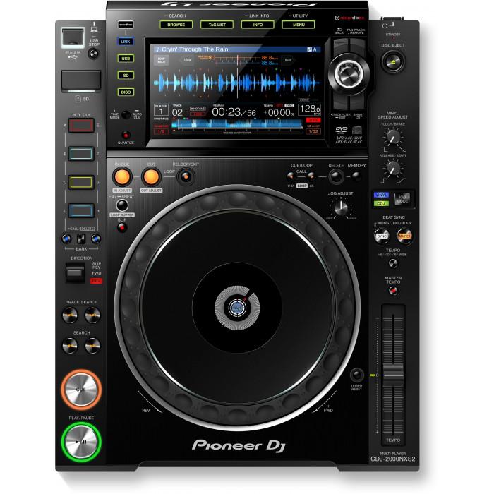 DJ CD проигрыватель Pioneer DJ CDJ-2000NXS2 Black
