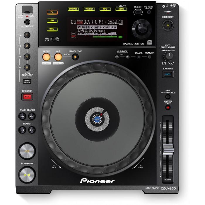 Pioneer DJ CDJ-850 Black